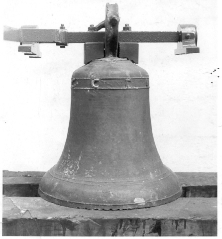 The oldest dated bell in England, at Lissett, Humberside, identified in 1972 by George Dawson